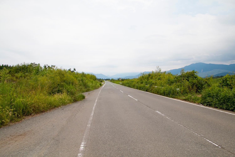 熊本空港の周辺の道路