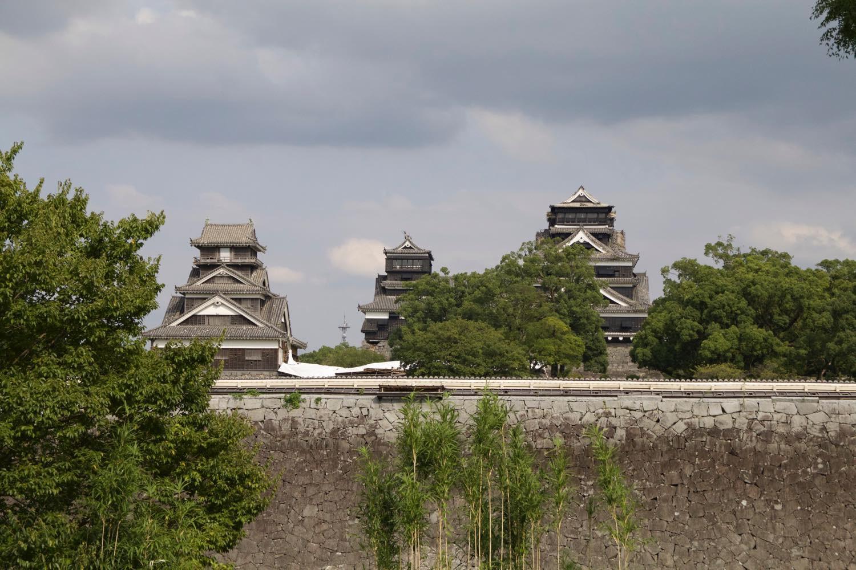 城本体の外観