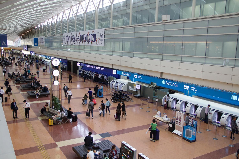 ターミナル2はANA