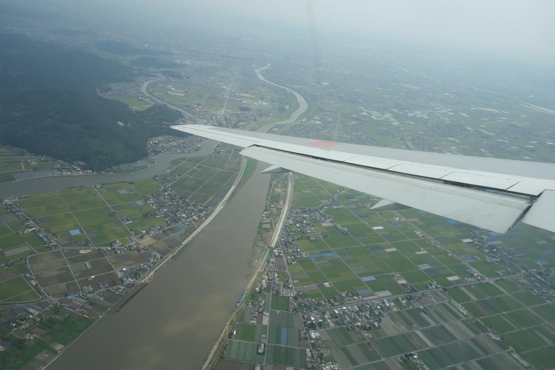 熊本へフライト