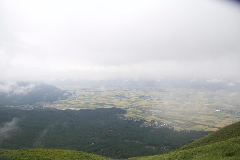 霧が晴れてきた