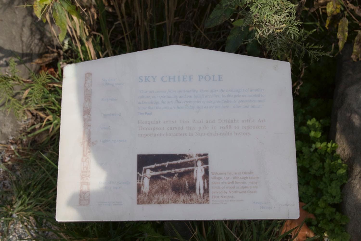 SKY CHIEF POLE