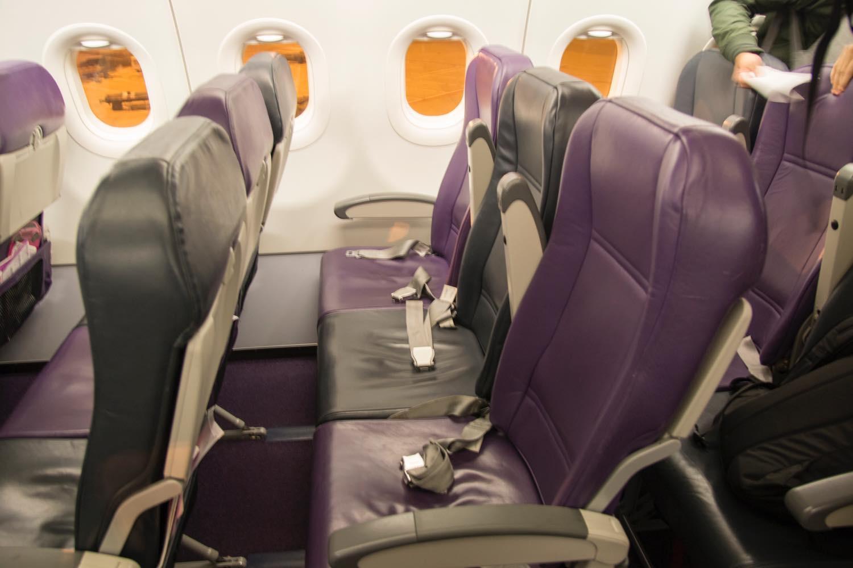 席のデザイン