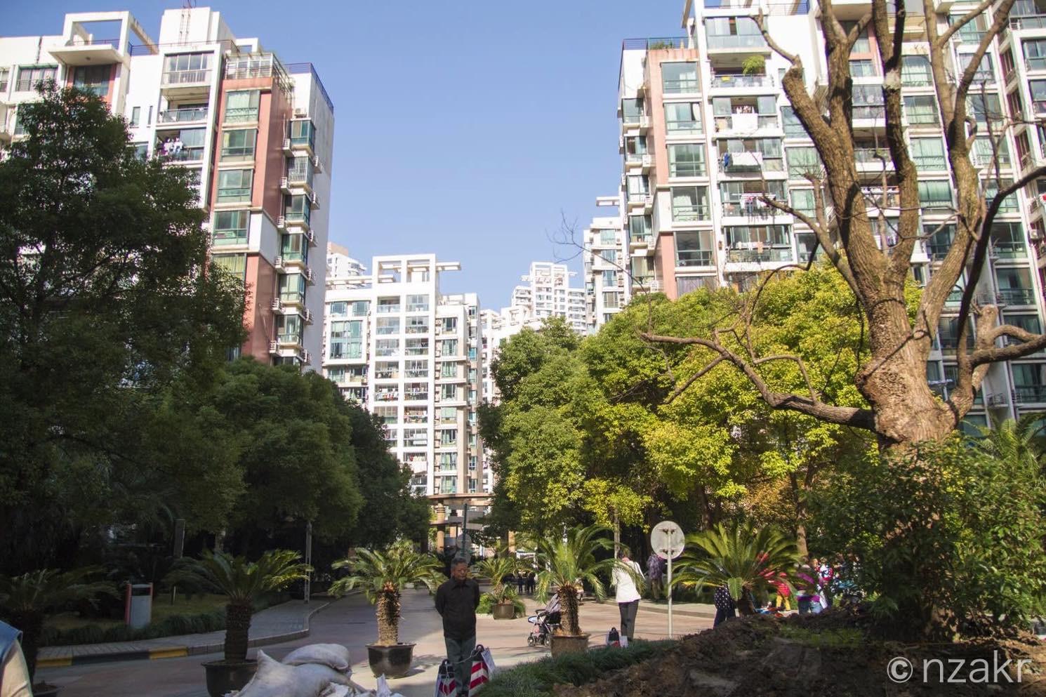 上海のコンドミニアム