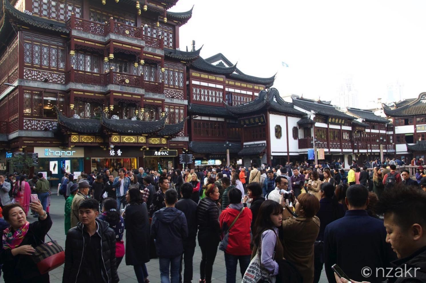 中央の広場
