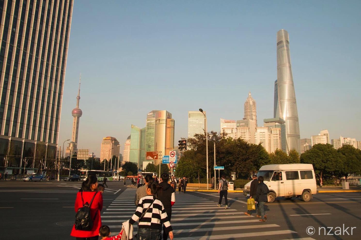 上海のテレビ塔