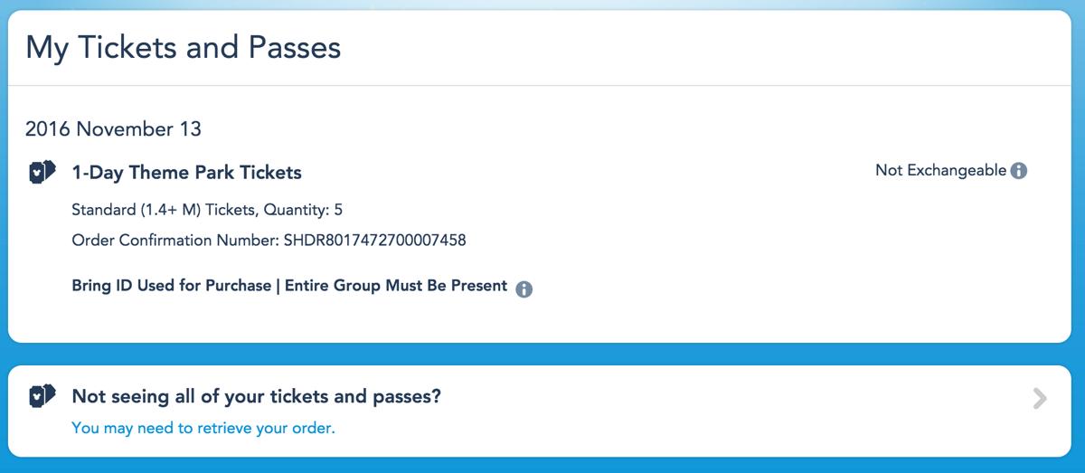 チケットの詳細