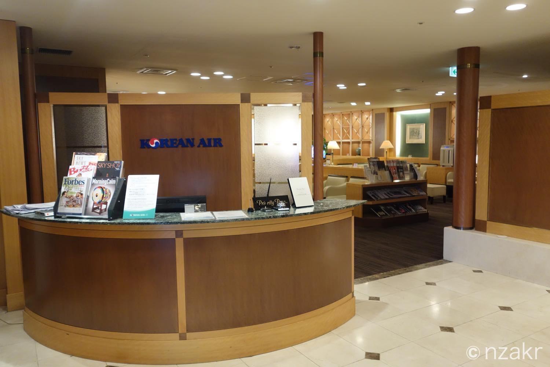 関西国際空港のKALラウンジ