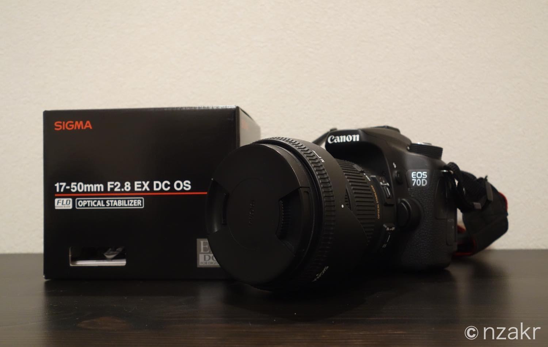 シグマの初心者向け汎用レンズ SIGMA 17-50mm F2.8