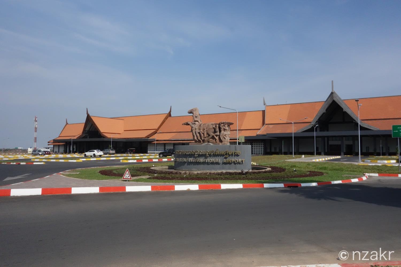 カンボジア シェムリアップ国際空港