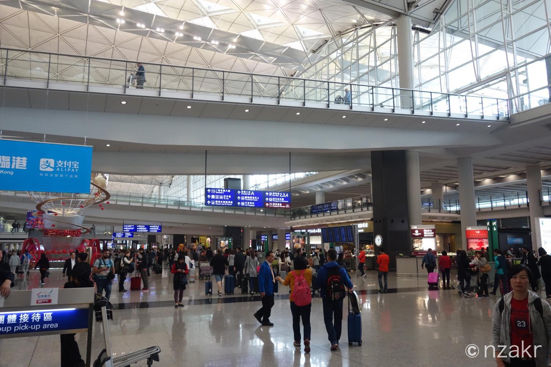 香港に入国