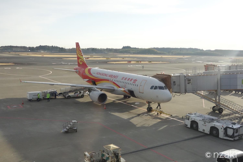 香港航空の成田〜香港便