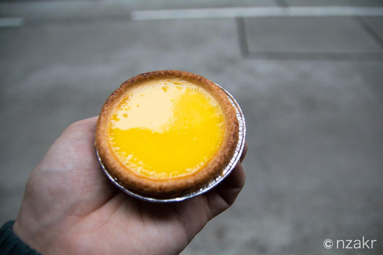 泰昌餅家のエッグタルト
