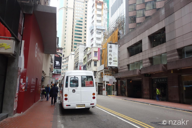 香港2日目の朝