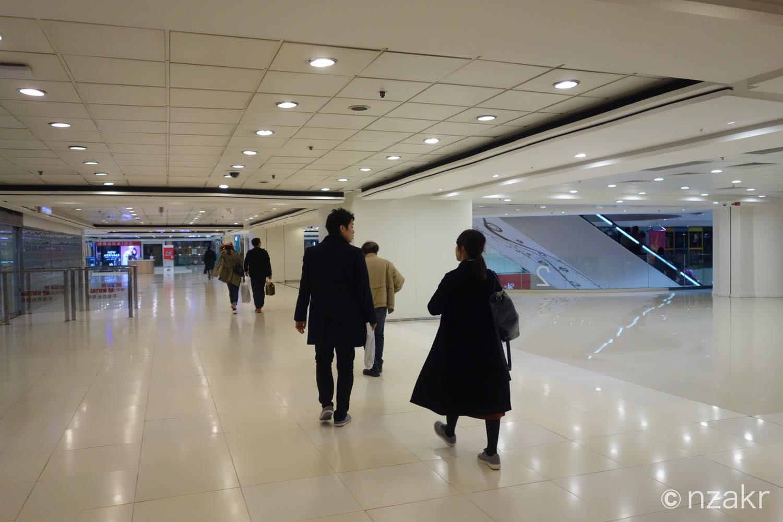 香港に帰還