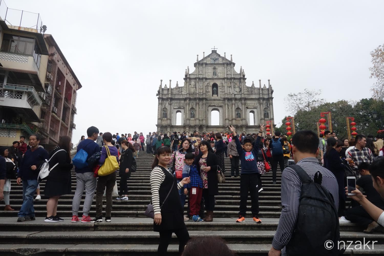 聖ポール天主堂跡(大三巴牌坊)