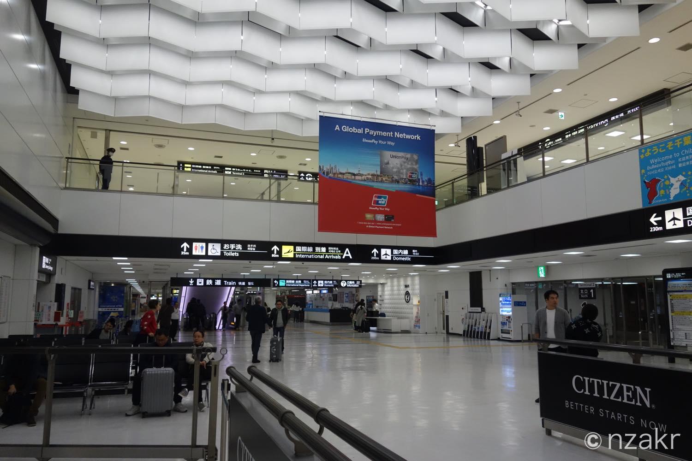 成田国際空港ターミナル2のアライバルゲート