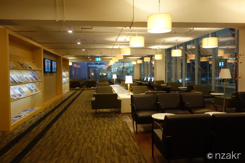 スワンナプーム国際空港のCIPラウンジ