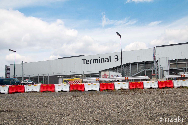 成田空港第3ターミナルの外観