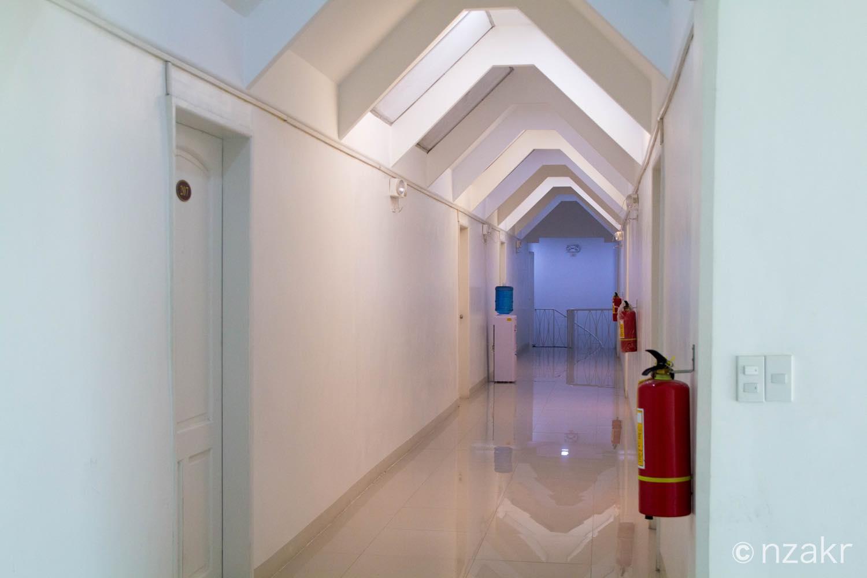 アネックス寮の廊下