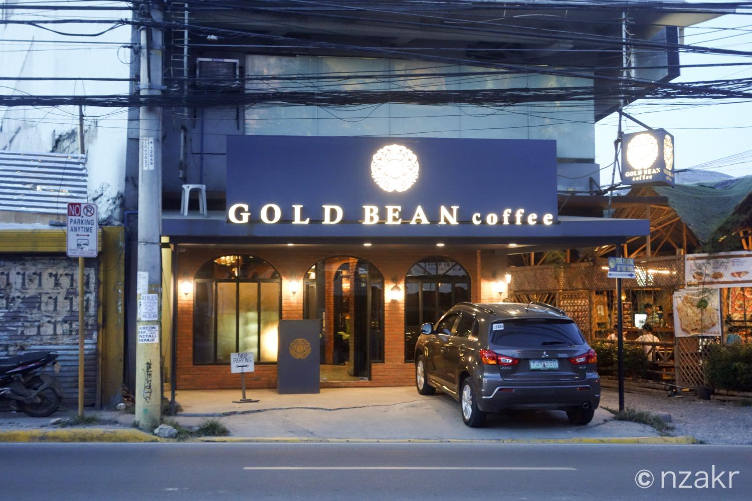 GOLD BEAN coffeeの外観
