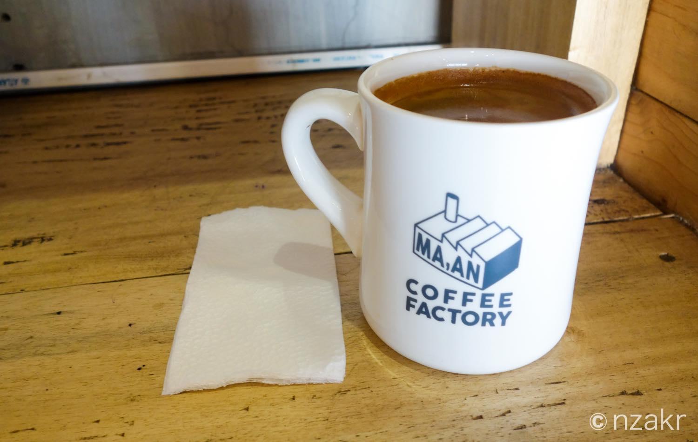 コロンビア産のドリップコーヒー