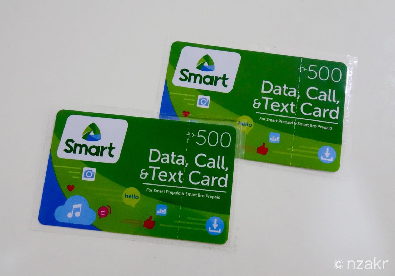 SMARTのロードカード
