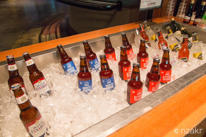 バンクーバーのローカルビールも売ってます