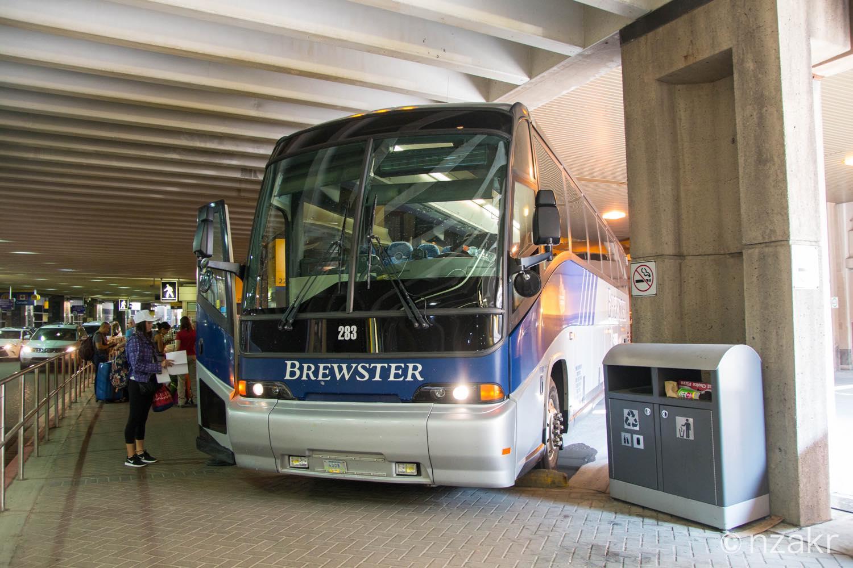 BREWSTER(ブリュースター)の空港送迎バス