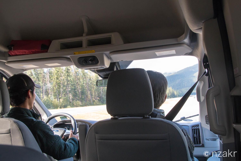 ヨーホー国立公園ツアー