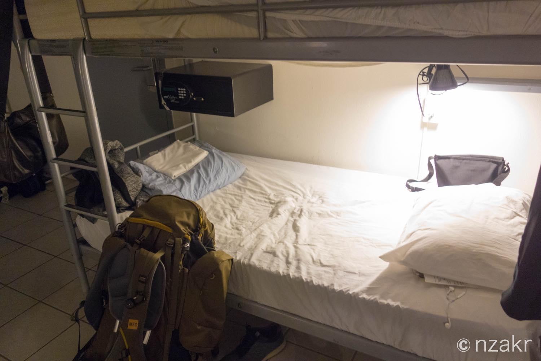使ったベッド