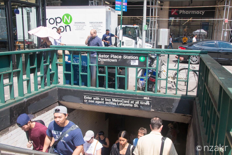 Astor Place駅