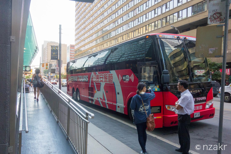 トロント〜ナイアガラフォールズのカジノバス