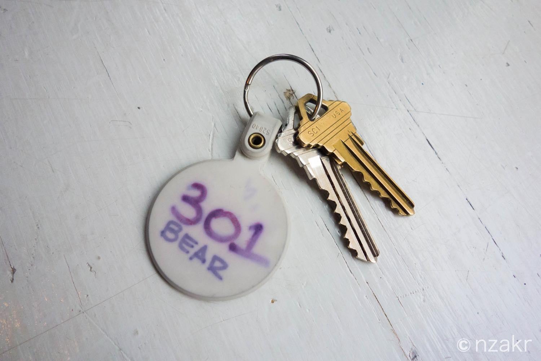 301号室の鍵