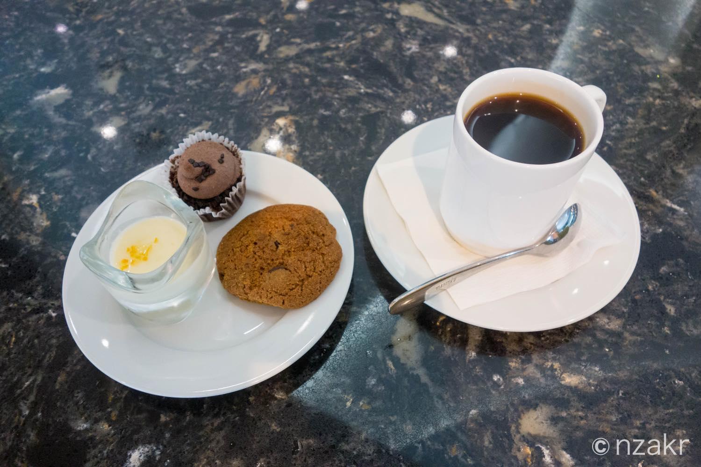 朝食の後のデザート