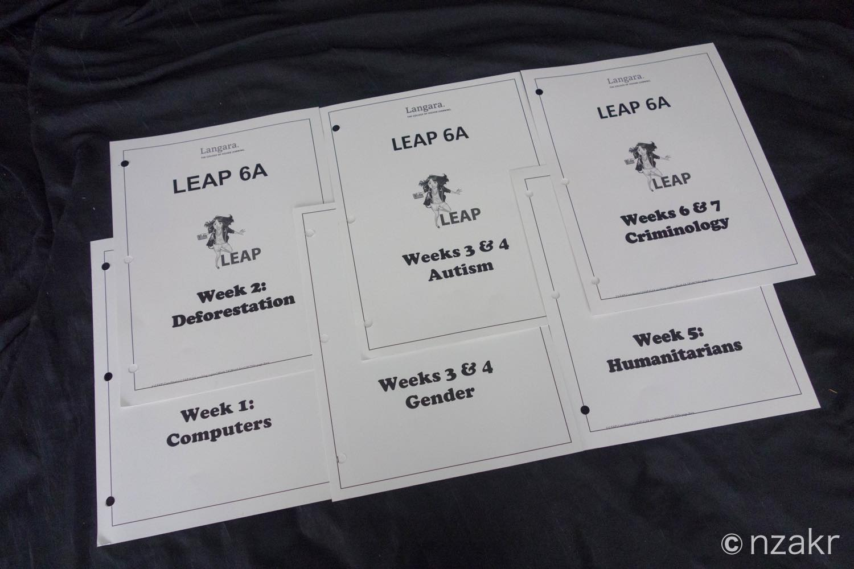 LEAP6で学んだトピック