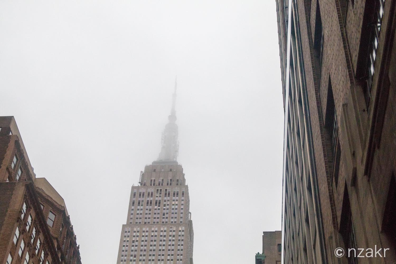 エンパイア・ステート・ビルの最頂点