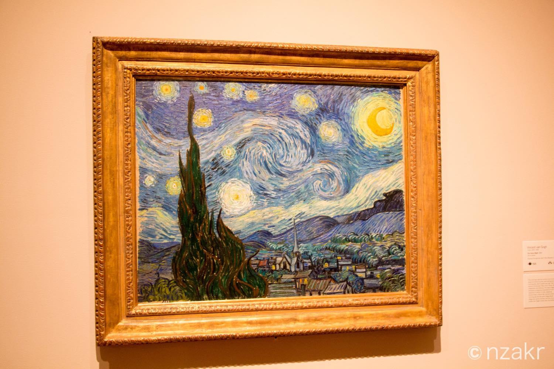 ゴッホ 星月夜(The Starry Night)
