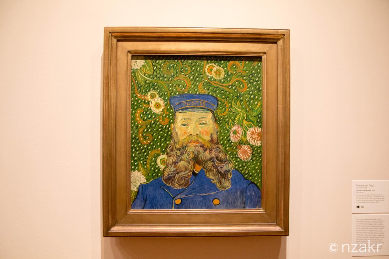 MOMA ゴッホの肖像画