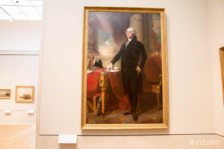 ジョージ・ワシントンの肖像画