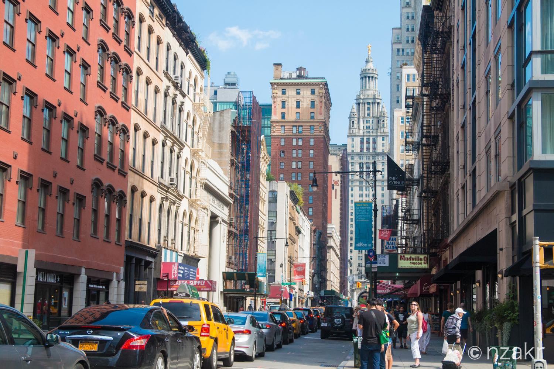 ニューヨーク マンハッタン島の風景