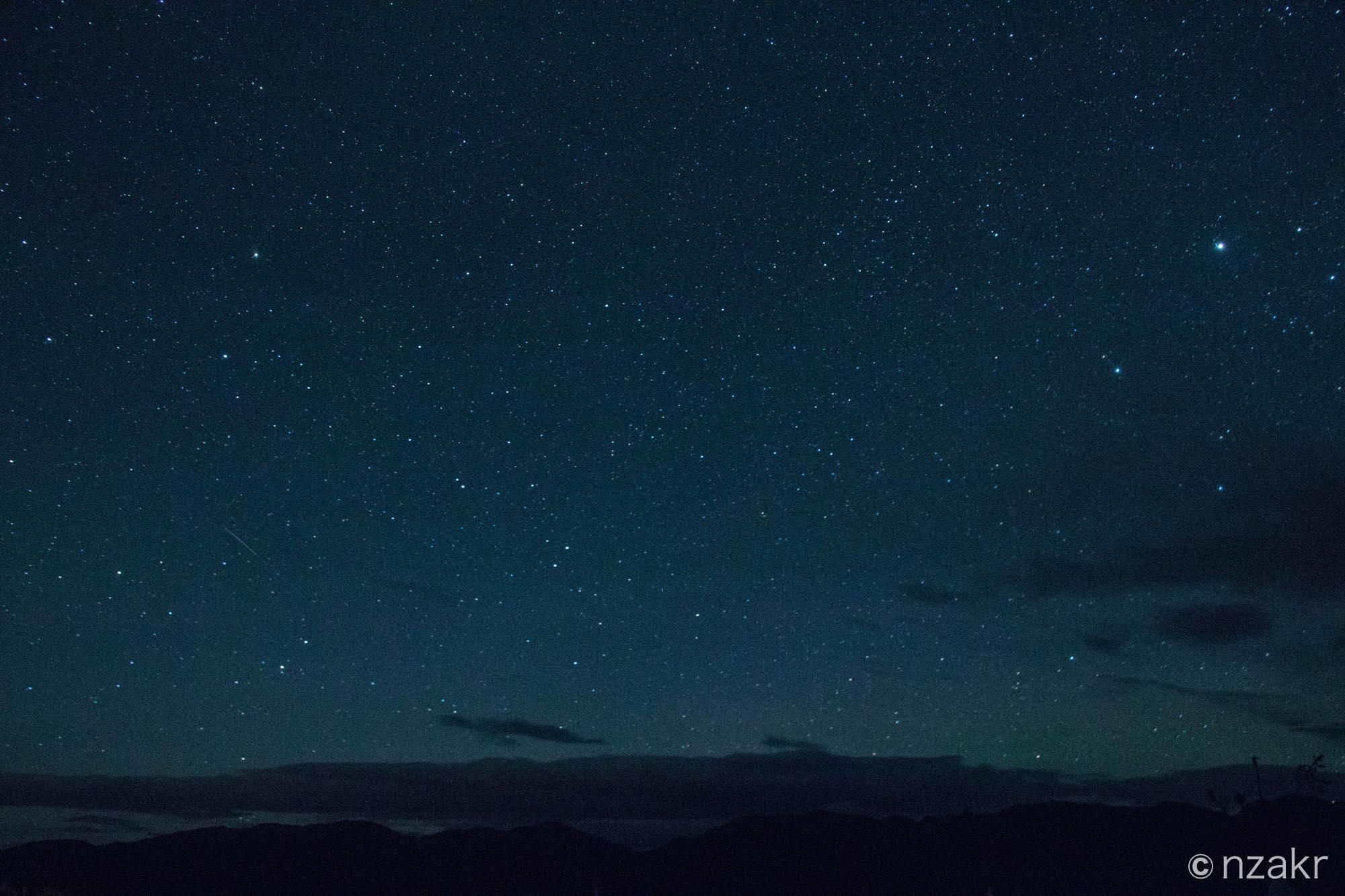 ホワイトホースの星空