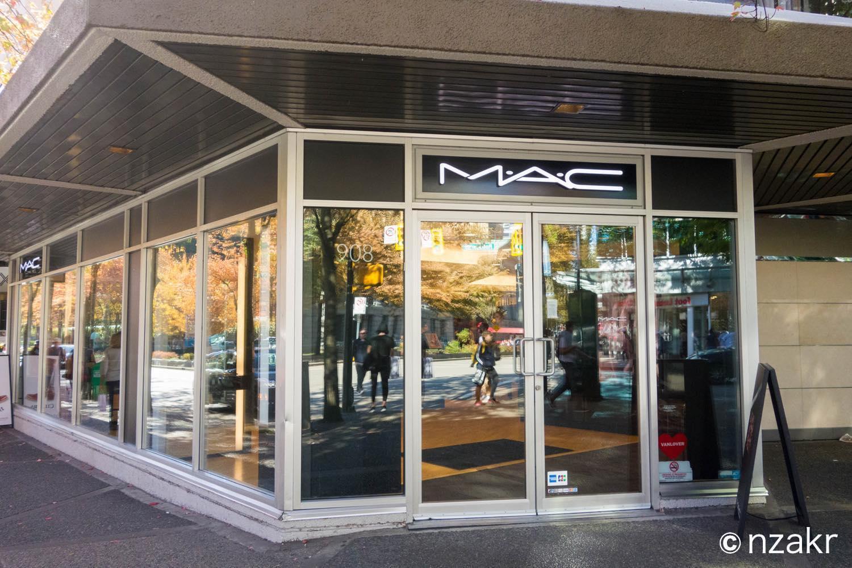 化粧品のM.A.C