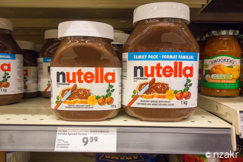 Nutella(ヌテラ)