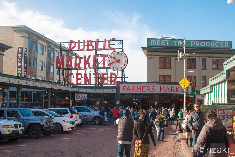 パイクプレイスマーケット(Public Market Center)