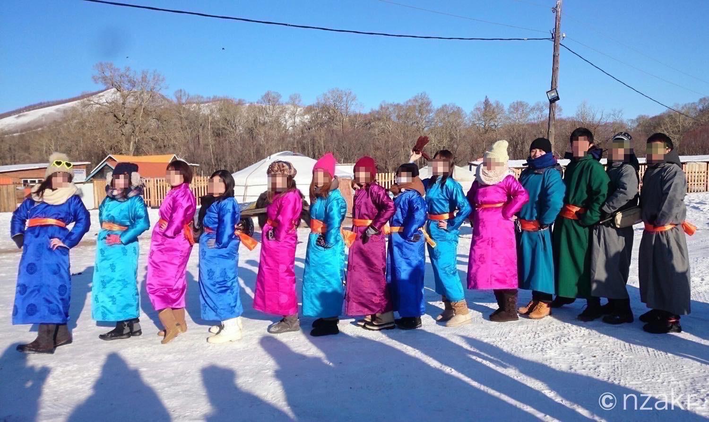 モンゴルの民族衣装 デール