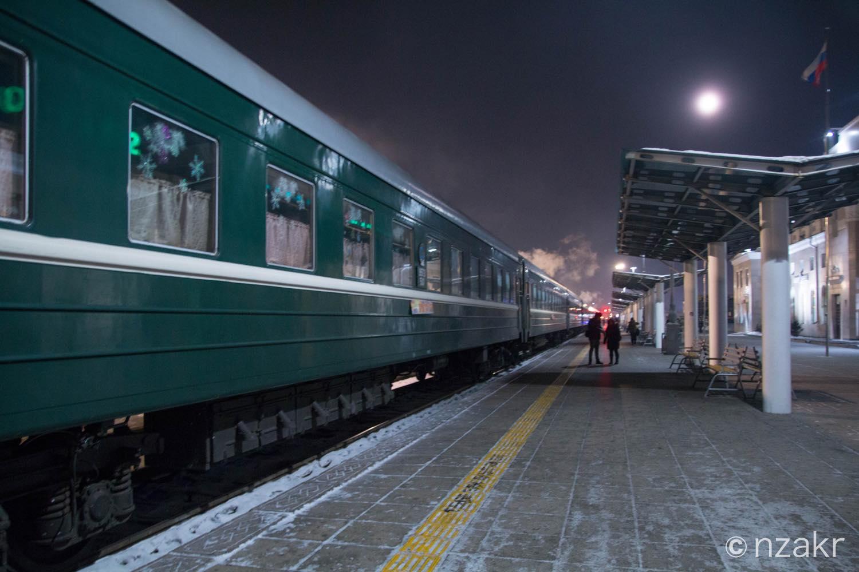 モンゴル発のシベリア鉄道
