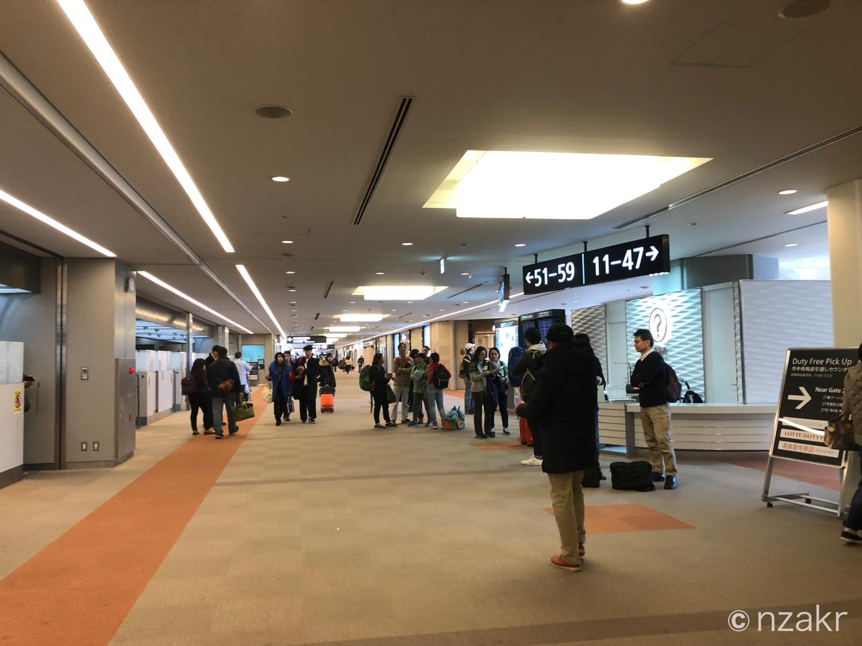 成田空港の制限エリア