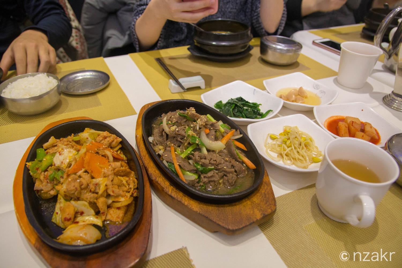 モンゴルのラストディナーはまさかの韓国料理