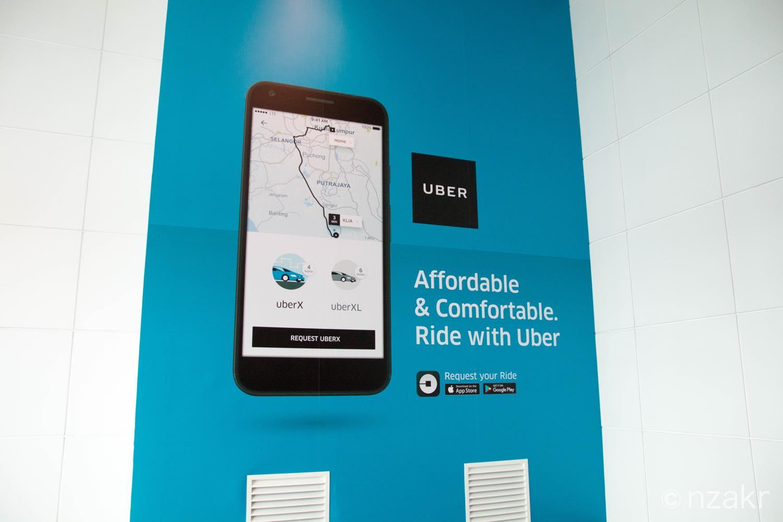 Uberの広告